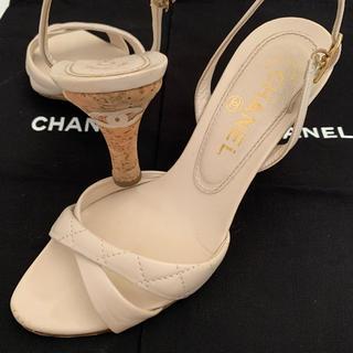 シャネル(CHANEL)のシャネル 正規 CCマーク付ミュール(ミュール)