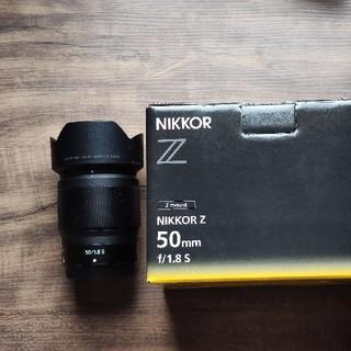 ニコン(Nikon)のNikon nikkor  z50mmf1.8s(レンズ(単焦点))