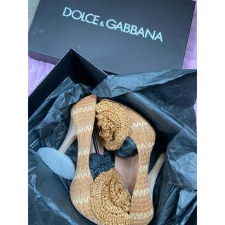 ドルチェアンドガッバーナ(DOLCE&GABBANA)のdolce and gabbana heels(ハイヒール/パンプス)