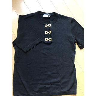 サルヴァトーレフェラガモ(Salvatore Ferragamo)のサルバトーレフェラガモ レディース カットソー(Tシャツ(半袖/袖なし))