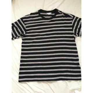 アンユーズド(UNUSED)のunused short sleeve border ボーダー Tシャツ(Tシャツ/カットソー(半袖/袖なし))