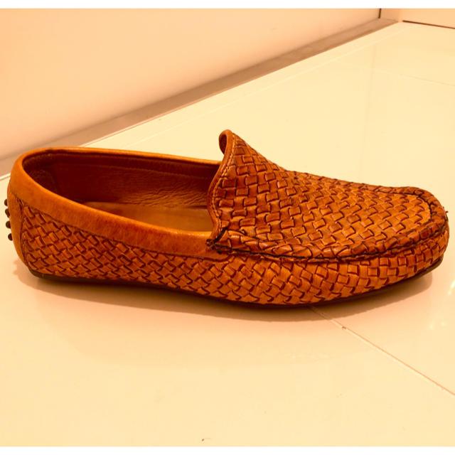 AUBE couture(オーブクチュール)のドライビングシューズ メンズの靴/シューズ(スリッポン/モカシン)の商品写真