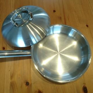 フィスラー(Fissler)のみん様専用  フィスラー ステンレス フライパン 蓋セット(鍋/フライパン)