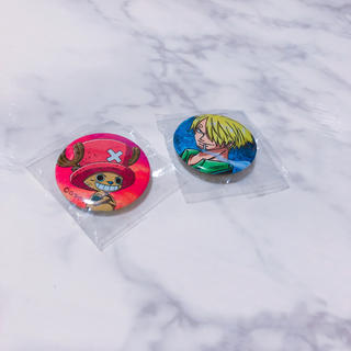 ユニバーサルスタジオジャパン(USJ)のワンピース 缶バッジ(バッジ/ピンバッジ)