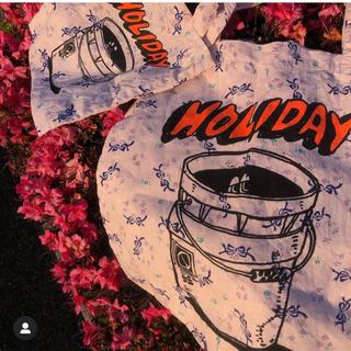 ホリデイ(holiday)の【完売品】Office holiday limited 花柄トート 大(トートバッグ)