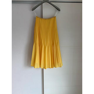 ラグナムーン(LagunaMoon)のELENDEEK プリーツスカート 001(ひざ丈スカート)