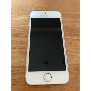 アップル(Apple)のSoftbank iPhone5s 傷なし美品 32GB(スマートフォン本体)