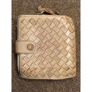 ボッテガヴェネタ(Bottega Veneta)のボッテガヴェネタ 二つ折り財布 白(折り財布)