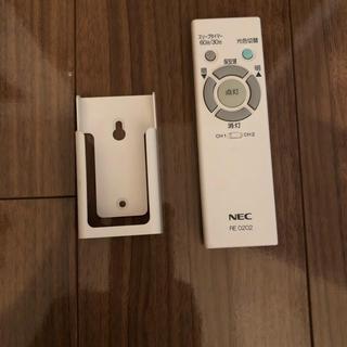 エヌイーシー(NEC)のシーリングライト リモコン(天井照明)