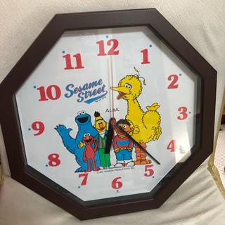 セサミストリート(SESAME STREET)のセサミストリート 掛け時計(キャラクターグッズ)
