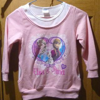 ディズニー(Disney)のディズニー アナと雪の女王 トレーナー サイズ110 <a350>(ジャケット/上着)