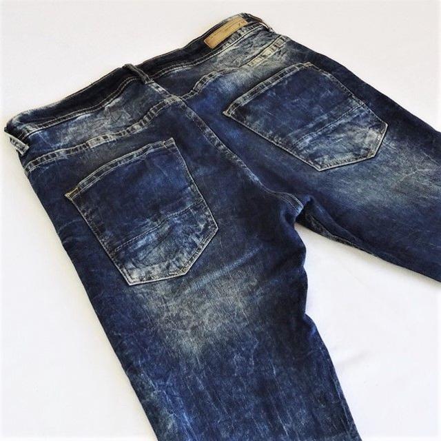 ZARA(ザラ)のZARAザラ▼ストレッチスーパースキニー▼濃紺▼32インチ▼ウエスト約80cm メンズのパンツ(デニム/ジーンズ)の商品写真