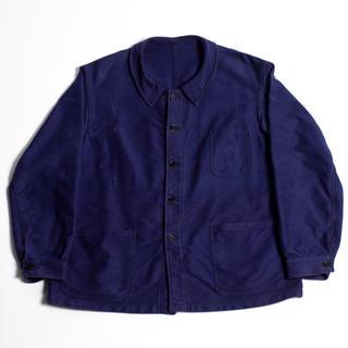 50s VINTAGE フレンチワーク モールスキン ジャケット(カバーオール)