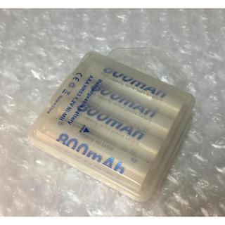 eneloop互換 ニッケル水素充電池 単四形 4本(バッテリー/充電器)