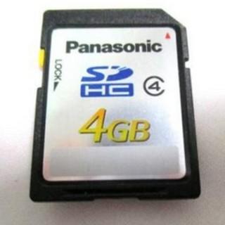 パナソニック(Panasonic)のパナソニック 4GB RP-SDL04G SDカード メモリーカード(その他)