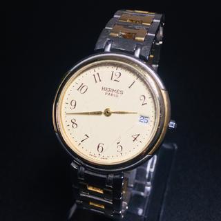 エルメス(Hermes)の【確実正規品】エルメス 腕時計 クリッパー ウインザー 可動品 ユニセックス(腕時計(アナログ))