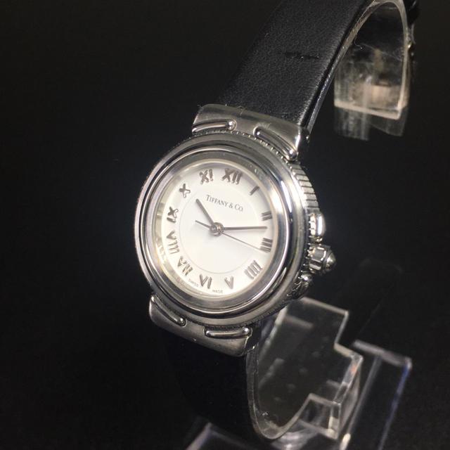 Tiffany & Co.(ティファニー)の【美品 正規品】ティファニー 腕時計 アトラス ホワイト Tiffany 可動品 レディースのファッション小物(腕時計)の商品写真