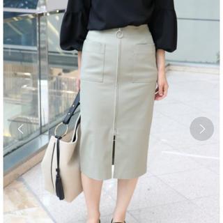 ノーブル(Noble)のNoble ジップタイトスカート(ひざ丈スカート)