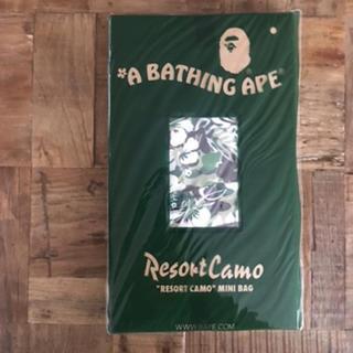 アベイシングエイプ(A BATHING APE)のエイプ リゾートカモ柄 ミニリュック(リュック/バックパック)