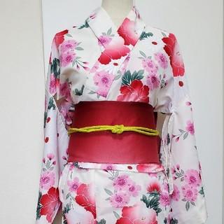 シマムラ(しまむら)のしまコレの可愛い桜柄の浴衣(浴衣)