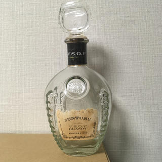 サントリー(サントリー)のブランデー 空き瓶 (ブランデー)