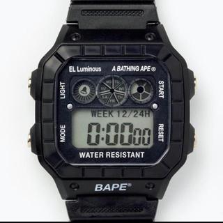 アベイシングエイプ(A BATHING APE)の最終値下げ! A BATHING APE 2020 腕時計のみ(腕時計(デジタル))