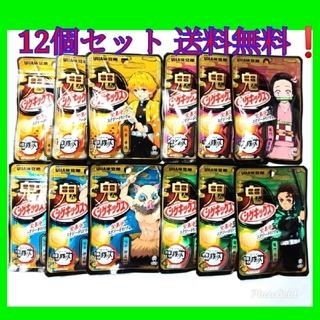 ユーハミカクトウ(UHA味覚糖)の最安値‼️鬼滅の刃シゲキックス お得な12個セット 4種×3 定価料金以下❗(菓子/デザート)
