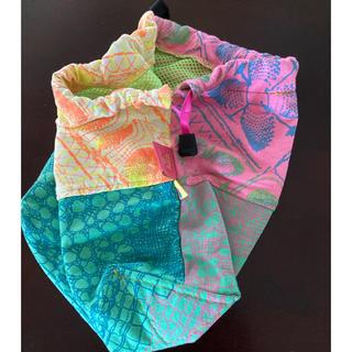 アッシュペーフランス(H.P.FRANCE)のJuana de Arco リメイク巾着ポーチ(ランチボックス巾着)