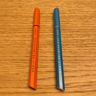 フローフシ(FLOWFUSHI)のFLOWFUSHI UZU ライトブルー&オレンジ(アイライナー)