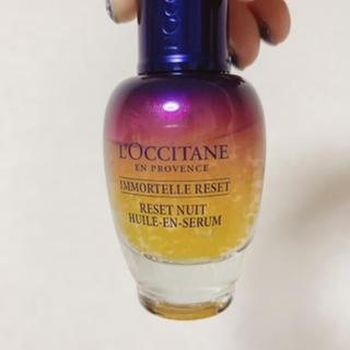 ロクシタン(L'OCCITANE)のL'OCCITANE ナイトRオイルインセラム 30ml(美容液)