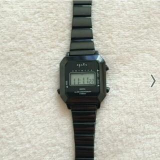 アガット(agete)のデジタルウォッチ(腕時計)