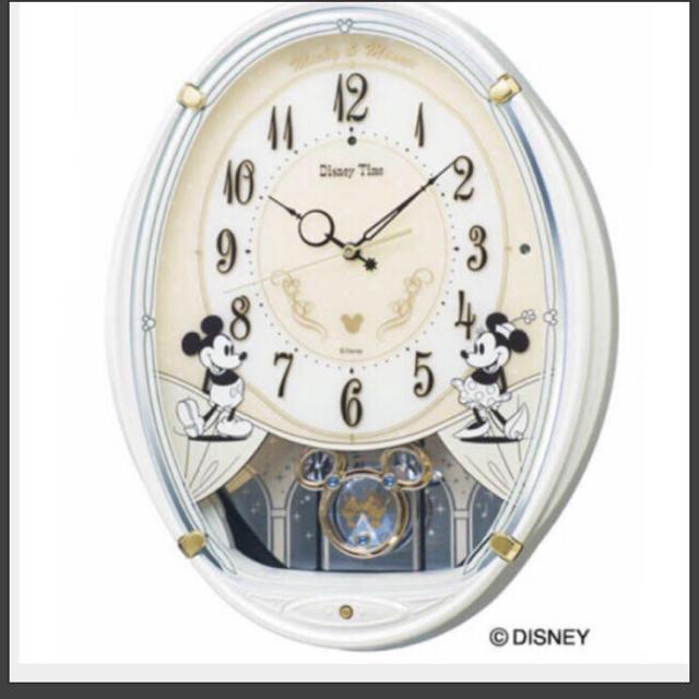 SEIKO(セイコー)のセイコー ディズニー電波掛け時計 ⚠️値下げ不可 インテリア/住まい/日用品のインテリア小物(掛時計/柱時計)の商品写真