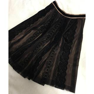 ロイスクレヨン(Lois CRAYON)のロイスクレヨン Partisan スカート サイズ:38(ロングスカート)