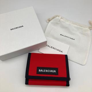 バレンシアガ(Balenciaga)のバレンシアガ  BALENCIAGA 折財布 エクスプローラー レッド 新品(折り財布)