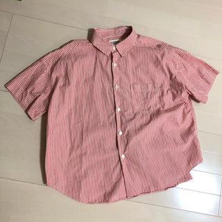 ビームスボーイ(BEAMS BOY)のbeamsboy ストライプシャツ(シャツ/ブラウス(半袖/袖なし))