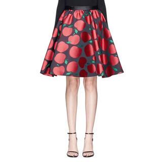 アリスアンドオリビア(Alice+Olivia)の新品未使用 アリスアンドオリビア Apple skirt(ひざ丈スカート)