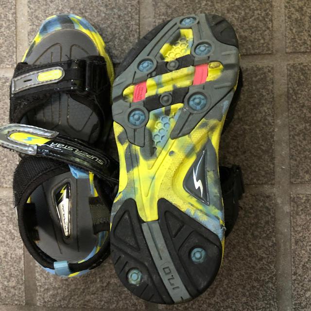 SUPERSTAR(スーパースター)のスーパースター サンダル キッズ/ベビー/マタニティのキッズ靴/シューズ(15cm~)(サンダル)の商品写真