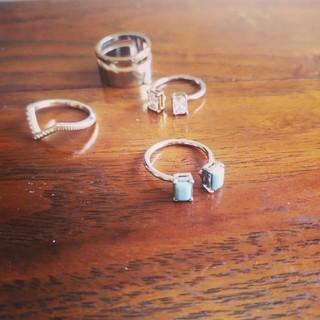 スナイデル(snidel)のsnidel リング セット 指輪(リング(指輪))