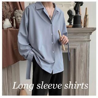 アレキサンダーマックイーン(Alexander McQueen)の【日本未入荷】Long sleeve plain shirts 韓国 シャツ(シャツ)