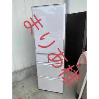 シャープ(SHARP)のシャープ 冷凍冷蔵庫2015年製 424L 5ドア 冷蔵(左右)開ける(冷蔵庫)
