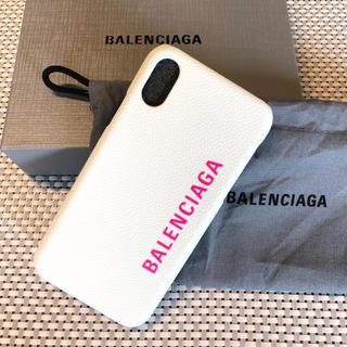 バレンシアガ(Balenciaga)の新品☆バレンシアガ iPhone X10ケース (iPhoneケース)