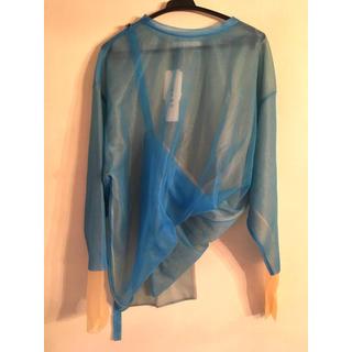 ルシェルブルー(LE CIEL BLEU)のIRENE アイレネ⭐︎Transparent knit top(ニット/セーター)