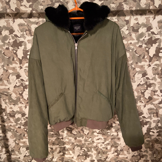 フィアオブゴッド(FEAR OF GOD)のFear of God 5th FAUX RABBIT HOODIE(ブルゾン)