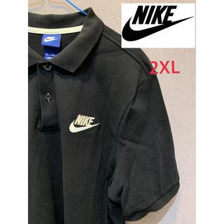 ナイキ(NIKE)のNIKE ナイキ /スウッシュ ワンポイント刺繍ロゴ ポロシャツ ビッグサイズ(ポロシャツ)