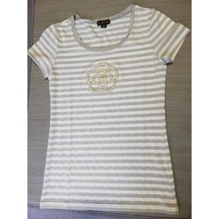 クレイサス(CLATHAS)のクレイサス CLATHAS 半袖Tシャツ パール スワロフスキー(Tシャツ(半袖/袖なし))