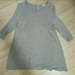 ジーユー(GU)のGuチュニック(Tシャツ(長袖/七分))