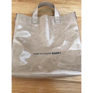 COMME des GARCONS - コムデギャルソンシャツ 18ss PVCトートバッグ