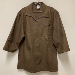 ワンエルディーケーセレクト(1LDK SELECT)のチェコ軍 3/4スリーブリメイク プルオーバーシャツ コックシャツ(シャツ)