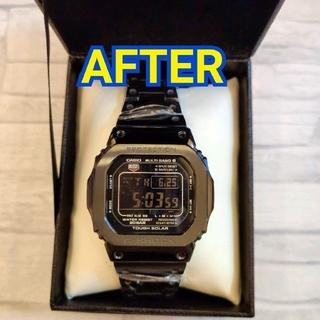 ジーショック(G-SHOCK)の【電波ソーラー】 G-SHOCK GW-M5610-1BJF メタル カスタム(腕時計(デジタル))