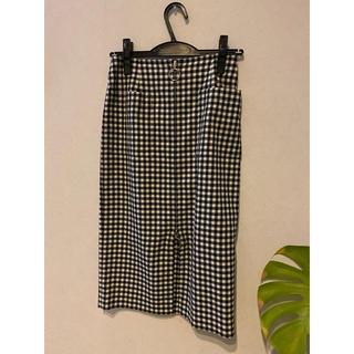 ノーブル(Noble)のノーブル ジップタイトスカート 36(ひざ丈スカート)